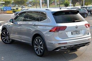 2019 Volkswagen Tiguan 5N MY19.5 162TSI Highline DSG 4MOTION Allspace Silver 7 Speed.