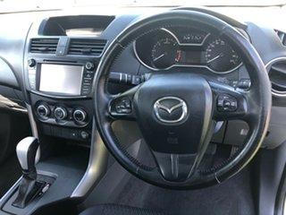 2017 Mazda BT-50 UR0YG1 XTR 4x2 Hi-Rider Cool White 6 Speed Sports Automatic Utility