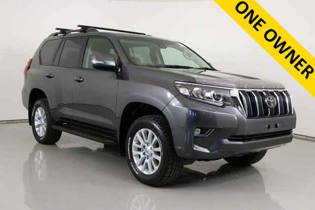 Used Toyota Landcruiser Prado GDJ150R MY17 GXL (4x4) Bentley, 2017 Toyota Landcruiser Prado GDJ150R MY17 GXL (4x4) Graphite 6 Speed Automatic Wagon