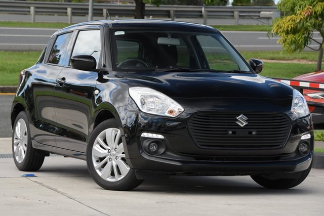 Used Suzuki Swift AZ GL Navigator North Lakes, 2019 Suzuki Swift AZ GL Navigator Black 1 Speed Constant Variable Hatchback