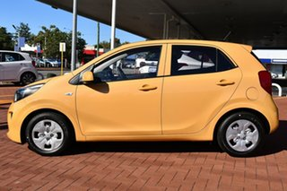 2020 Kia Picanto JA MY21 GT-Line Honey Bee Yellow 4 Speed Automatic Hatchback