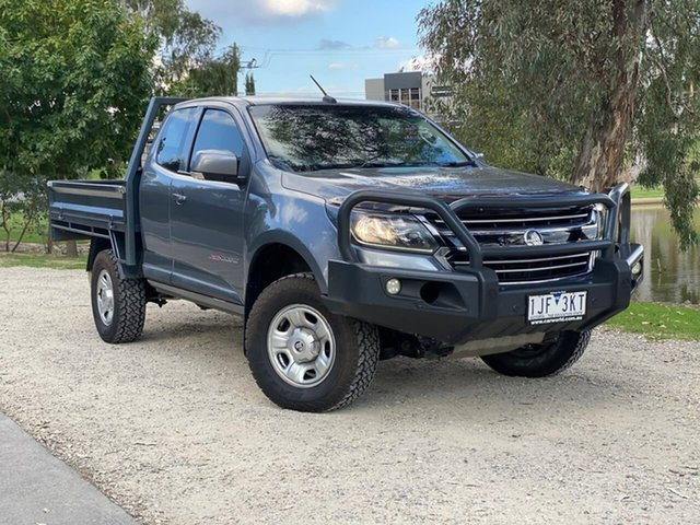 Used Holden Colorado RG MY16 LS Space Cab Wodonga, 2016 Holden Colorado RG MY16 LS Space Cab Grey 6 Speed Sports Automatic Cab Chassis