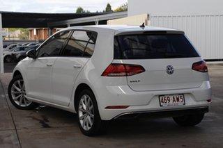 2018 Volkswagen Golf 7.5 MY18 110TSI DSG Comfortline Pure White 7 Speed Sports Automatic Dual Clutch.