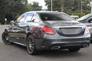 2015 Mercedes-Benz C-Class W205 C300 BlueTEC Hybrid 7G-Tronic + Grey 7 Speed Sports Automatic Sedan