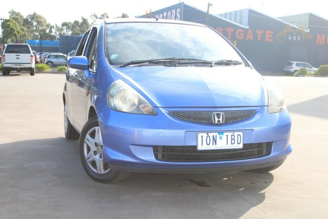 Used Honda Jazz MY06 VTi West Footscray, 2006 Honda Jazz MY06 VTi 5 Speed Manual Hatchback