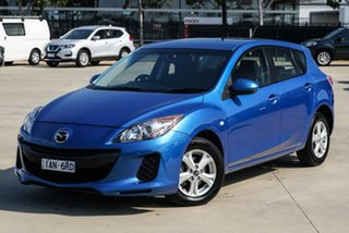2013 Mazda 3 BL Series 2 Neo Blue Sports Automatic Hatchback.