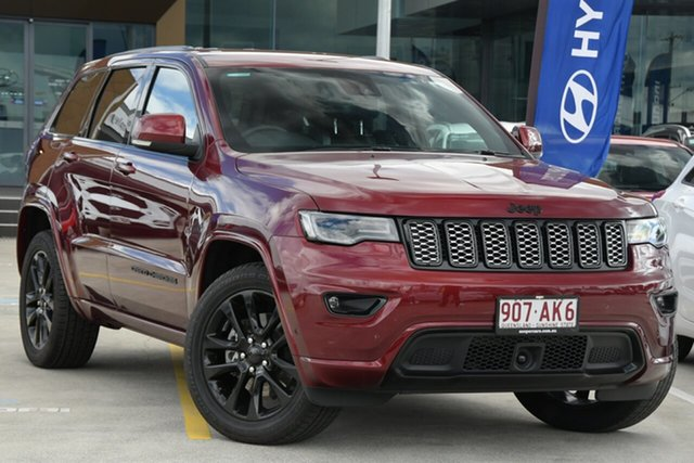 Used Jeep Grand Cherokee WK MY20 Night Eagle Aspley, 2020 Jeep Grand Cherokee WK MY20 Night Eagle Red 8 Speed Sports Automatic Wagon