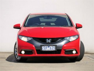 2013 Honda Civic 9th Gen VTi-LN Red Sports Automatic Hatchback.