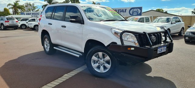 Used Toyota Landcruiser Prado KDJ150R MY14 GX East Bunbury, 2013 Toyota Landcruiser Prado KDJ150R MY14 GX White 5 Speed Sports Automatic Wagon