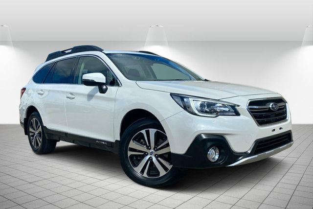 Used Subaru Outback B6A MY18 2.5i CVT AWD Hervey Bay, 2018 Subaru Outback B6A MY18 2.5i CVT AWD White 7 Speed Constant Variable Wagon