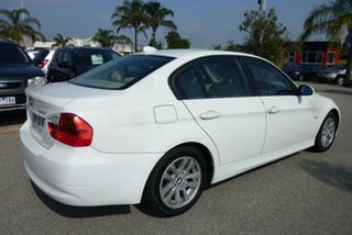 2005 BMW 3 Series E90 320i Steptronic Executive White 6 Speed Automatic Sedan.