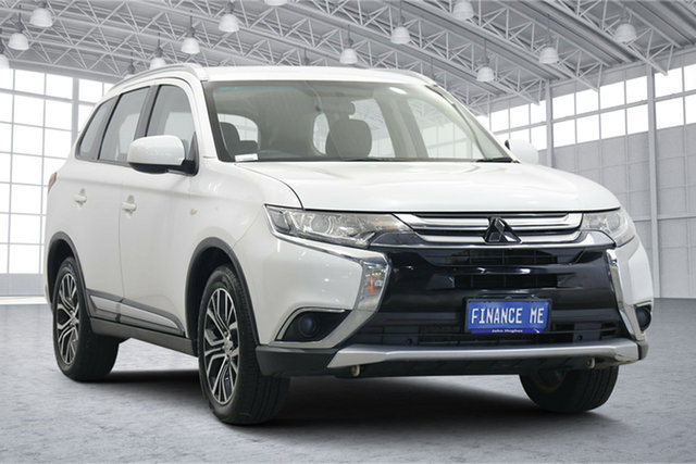 Used Mitsubishi Outlander ZL MY18.5 ES AWD Victoria Park, 2018 Mitsubishi Outlander ZL MY18.5 ES AWD Starlight 6 Speed Constant Variable Wagon