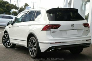 2020 Volkswagen Tiguan 5N MY21 162TSI Highline DSG 4MOTION Allspace White 7 Speed.