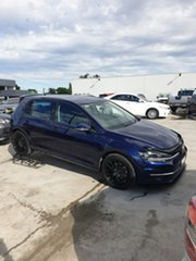 2018 Volkswagen Golf 7.5 MY18 110TSI DSG Comfortline Blue 7 Speed Sports Automatic Dual Clutch.