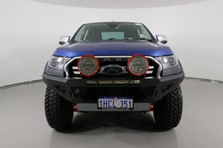 2020 Ford Ranger PX MkIII MY20.75 XLT 2.0 (4x4) Blue 10 Speed Automatic Double Cab Pick Up.