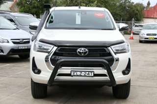 2020 Toyota Hilux GUN126R 4x4 Crystal Pearl 6 Speed Automatic Dual Cab