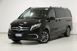 2019 Mercedes-Benz V250d 447 MY20 Avantgarde MWB Black 7 Speed Automatic G-Tronic Wagon.
