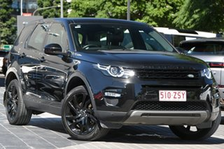 2016 Land Rover Discovery Sport L550 16.5MY HSE Black 9 Speed Sports Automatic Wagon.