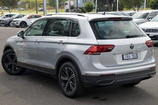 2020 Volkswagen Tiguan 5N MY21 110TSI Life DSG 2WD Silver 6 Speed Sports Automatic Dual Clutch Wagon.