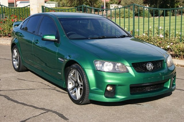Used Holden Commodore VE II SV6 Blair Athol, 2010 Holden Commodore VE II SV6 Green 6 Speed Automatic Sedan