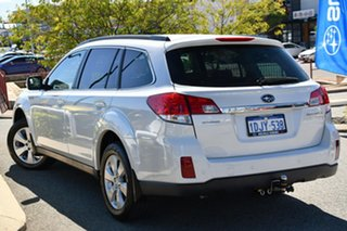 2010 Subaru Outback B5A MY10 2.5i Lineartronic AWD Premium Satin White 6 Speed Constant Variable.