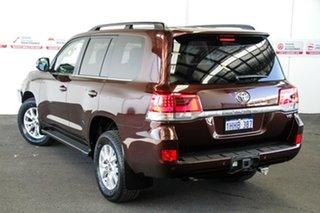 2017 Toyota Landcruiser VDJ200R MY16 VX (4x4) Copper Brown 6 Speed Automatic Wagon.