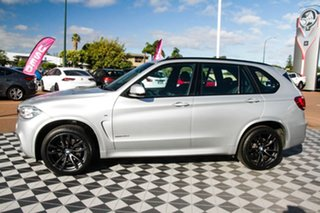 2016 BMW X5 F15 sDrive25d Silver 8 Speed Automatic Wagon
