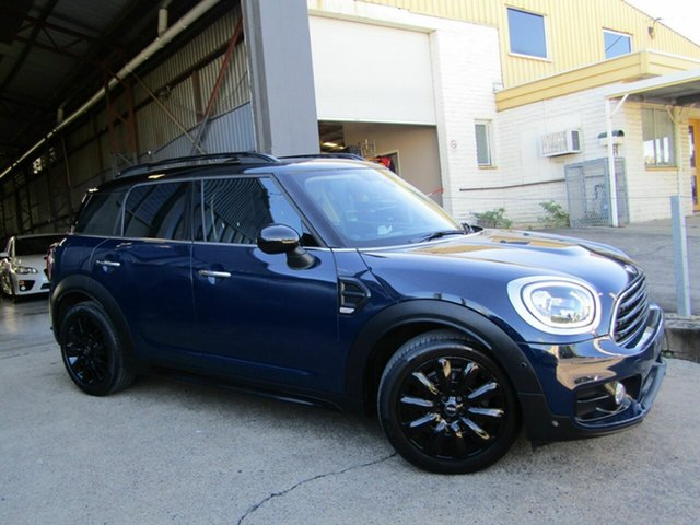 Used Mini Countryman F60 Cooper D Steptronic Moorooka, 2017 Mini Countryman F60 Cooper D Steptronic Blue 8 Speed Sports Automatic Wagon