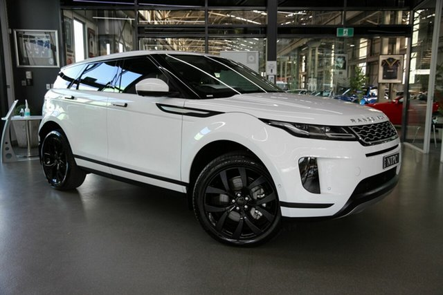 Used Land Rover Range Rover Evoque L551 MY20 SE North Melbourne, 2019 Land Rover Range Rover Evoque L551 MY20 SE White 9 Speed Sports Automatic Wagon