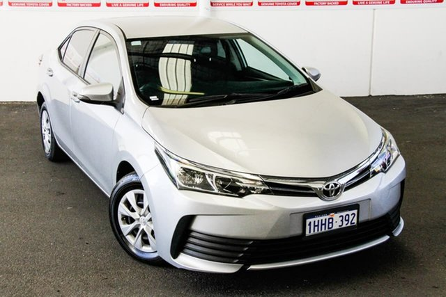 Pre-Owned Toyota Corolla ZRE172R MY17 Ascent Myaree, 2017 Toyota Corolla ZRE172R MY17 Ascent Silver Ash 7 Speed CVT Auto Sequential Sedan