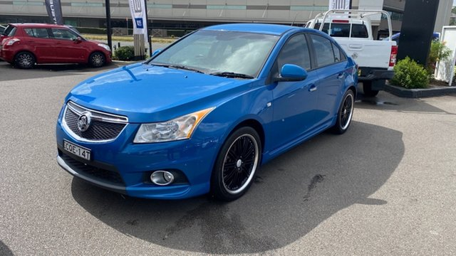 Used Holden Cruze JH Series II MY14 SRi-V Cardiff, 2013 Holden Cruze JH Series II MY14 SRi-V Blue 6 Speed Sports Automatic Sedan
