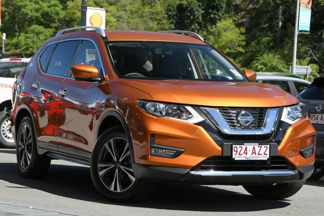 Demo Nissan X-Trail T32 MY21 ST-L X-tronic 4WD Newstead, 2021 Nissan X-Trail T32 MY21 ST-L X-tronic 4WD Copper Blaze 7 Speed Constant Variable Wagon