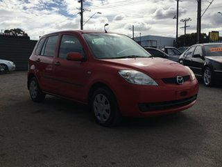 2005 Mazda 2 DY10Y1 Neo Red 5 Speed Manual Hatchback.