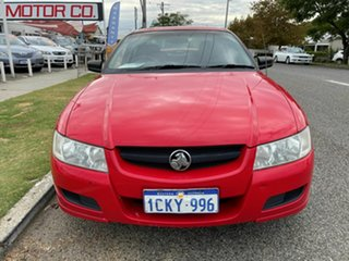 2005 Holden Commodore VZ Executive Red 4 Speed Automatic Sedan.