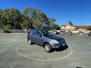2003 Honda CR-V RD MY2003 4WD Blue 4 Speed Automatic Wagon.