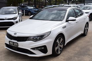 2019 Kia Optima JF MY20 GT Snow White 6 Speed Sports Automatic Sedan.
