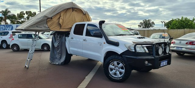 Used Toyota Hilux KUN26R MY12 SR Double Cab East Bunbury, 2012 Toyota Hilux KUN26R MY12 SR Double Cab 5 Speed Manual Utility
