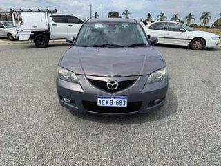 2006 Mazda 3 BK Maxx Grey 4 Speed Auto Activematic Hatchback.