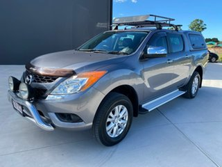 2013 Mazda BT-50 UP0YF1 XTR Grey 6 Speed Sports Automatic Utility.