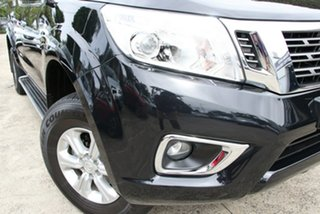 2016 Nissan Navara D23 Series II ST (4x4) Black 7 Speed Automatic Dual Cab Utility.