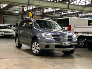 2004 Mitsubishi Outlander ZE LS Grey 4 Speed Sports Automatic Wagon.