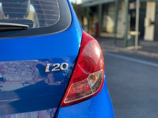 2012 Hyundai i20 PB MY12 Active Pristine Blue 5 Speed Manual Hatchback