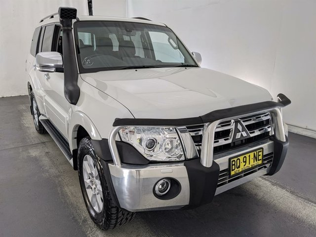 Used Mitsubishi Pajero NW MY12 GLX Maryville, 2011 Mitsubishi Pajero NW MY12 GLX White 5 Speed Sports Automatic Wagon