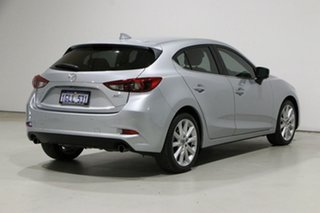 2017 Mazda 3 BN MY17 SP25 GT Silver 6 Speed Automatic Hatchback