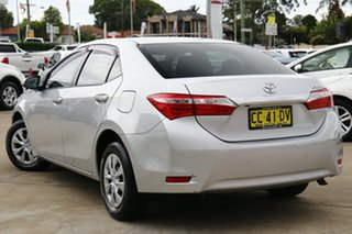 2014 Toyota Corolla ZRE172R Ascent S-CVT Silver Ash 7 Speed Constant Variable Sedan.