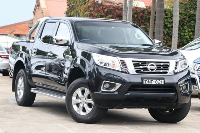 Pre-Owned Nissan Navara D23 Series II ST (4x4) Mosman, 2016 Nissan Navara D23 Series II ST (4x4) Black 7 Speed Automatic Dual Cab Utility