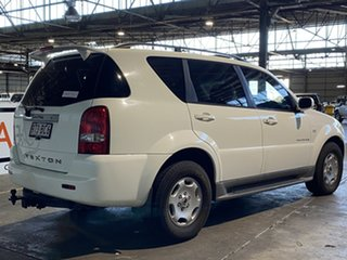 2005 Ssangyong Rexton Y220 Sports Plus White 5 Speed Sports Automatic Wagon