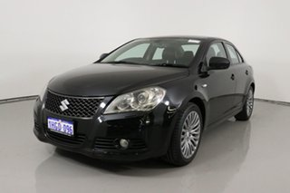 2011 Suzuki Kizashi FR XLS Black Continuous Variable Sedan