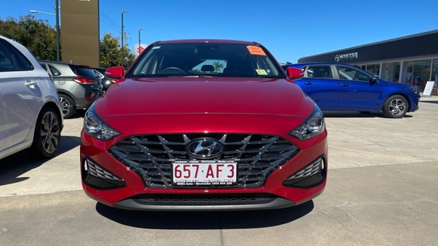 Demo Hyundai i30 PD.V4 MY21 Moorooka, 2020 Hyundai i30 PD.V4 MY21 Firey Red 6 Speed Sports Automatic Hatchback