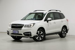 2018 Subaru Forester MY18 2.0D-L White Continuous Variable Wagon.